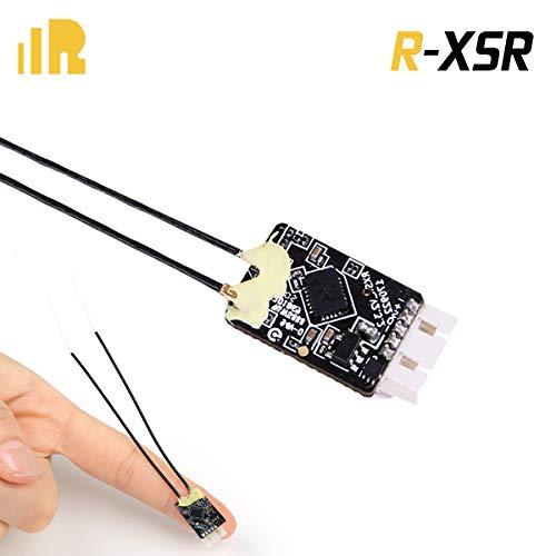 FrSky Empfänger R-XSR Receiver, Frsky taranis 2.4GHz 16CH ACCST RC Empfänger (16CH SBUS 8CH CPPM Output) Kompatibel X9D X9E X9D Plus X12S Frsky Sender Transmitter for FPV Racing RC Drone Quadcopter