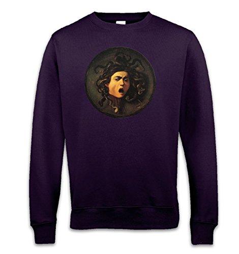 Caravaggio Medusa Sweatshirt Gr. Medium, violett