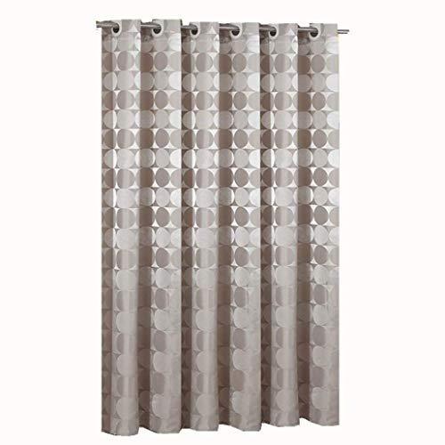 goodbath Duschvorhänge, wasserdicht, schimmelresistent, Polyestergewebe, Badezimmervorhang-Set khaki