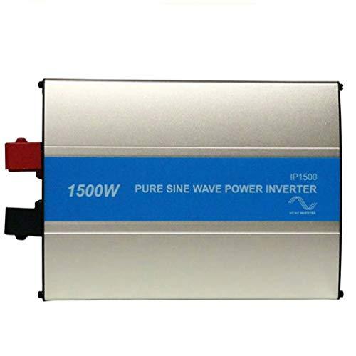 Preisvergleich Produktbild ZHANGJA 1500W Solar Power Off Grid Reiner Sinus-Wechselrichter 120V 220Vsolar Charger Inversor 50hz 60hz