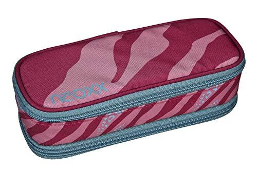 Neoxx Estuche Berry Vibes para niñas y niños, estuche grande con compartimento separador, para guardar en la escuela