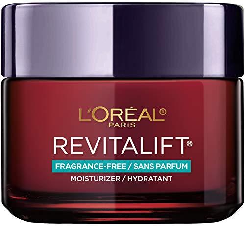 Face Moisturizer By L'Oreal Paris Skin Care I Revitalift Triple Power Fragrance Free Face Cream With Pro Retinol, Hyaluronic Acid & Vitamin C I 2.55 Oz