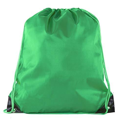 Mato & Hash Kordelzugbeutel, Kordelzug, 15 Farben, 100 Stück erhältlich, Unisex-Erwachsene, waldgrün, 50 Bags