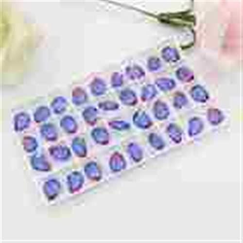 YSTSPYH Piedras Preciosas 144pcs 10x14mm Degradado Color Pointback Fancy Stone Piedras Sueltas Joyería de Moda Accesorios (Color : Tourmaline 16, Size : 10pcs)