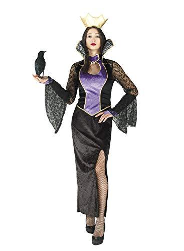 chiber - Disfraz de Reina Malvada para Mujer Adulta. Talla nica (S/M)