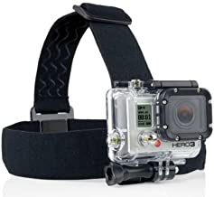 ProGear Adjustable Elastic Strap Head Mount With Anti-Slide For GoPro Hero 4/3+/3/2/1