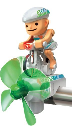 E Bike Bausatz - Eco Biker, kit - Cycliste on kit. Der Windkraft Radler