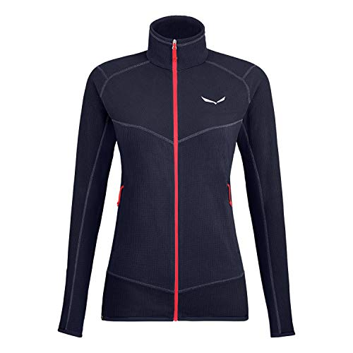 Salewa 00-0000027565_3981 Polaire Femme Premium Navy/6080 FR: XL (Taille Fabricant: 48/42)
