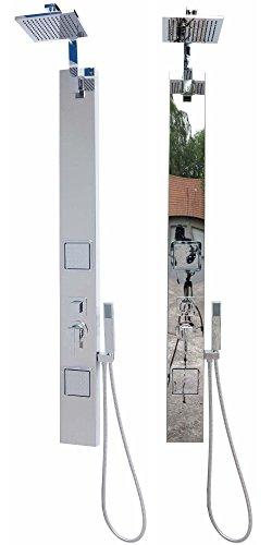 AquaSin colonne de douche en inox chrome miroir esthétique s156