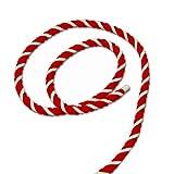 紅白ひも 太さ12mm 切売 「紅白紐・紅白ロープ」 アクリル製