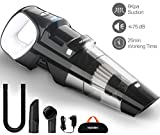 HOKEKI Handheld Vacuum 6KPA Cordless Hand Vacuum Cleaner Rechargeable Hand Vac, LED Light