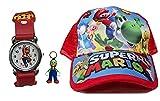 YUMEIJING Sombrero reloj Halloween Disfraz Mario Hat Cosplay Mexicano Sombreros Anime mario cap cappelli al por mayor
