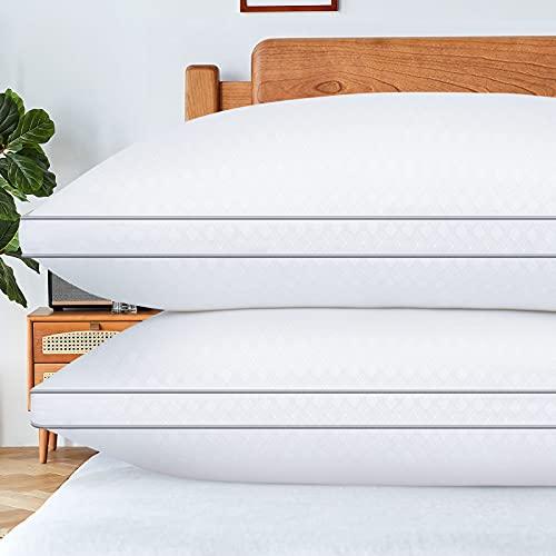 HOTOZON Standard Pillows for Sleeping 2 Pack, Bed Pillows Down...