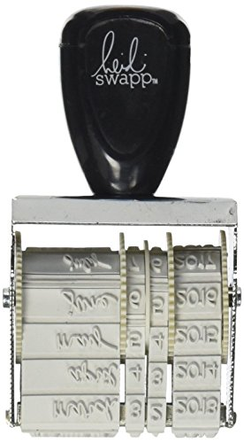 Heidi Swapp Sello fechador, Multicolor, Talla Unica