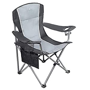 ALPHA CAMP Oversized Camping Chair 160 kg Weight Capacity