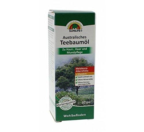 SUNLIFE Austr. Teebaumöl, 30 g