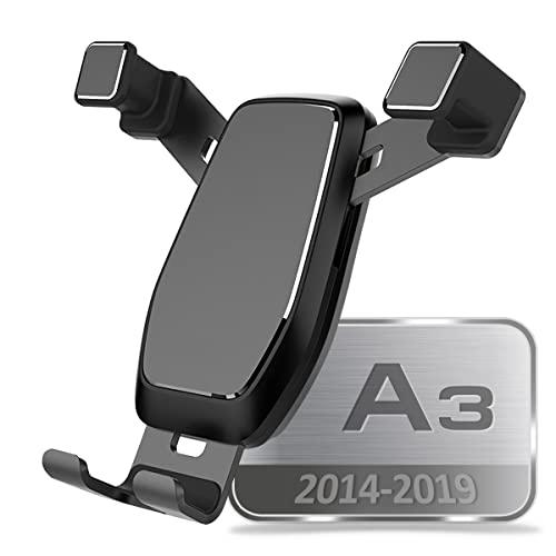 AYADA Porta Cellulare Compatibile con A3 8V, Porta Telefono Supporto Smartphone Nuova Versione gravità Auto Lock Stabile Facile da Installare 2014 2015 2016 2017 2018 2019 Accessori