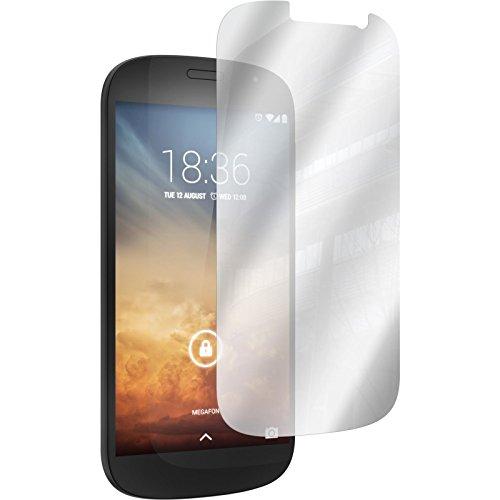 PhoneNatic 8er-Pack Bildschirmschutzfolien verspiegelt kompatibel mit Yota Yotaphone 2