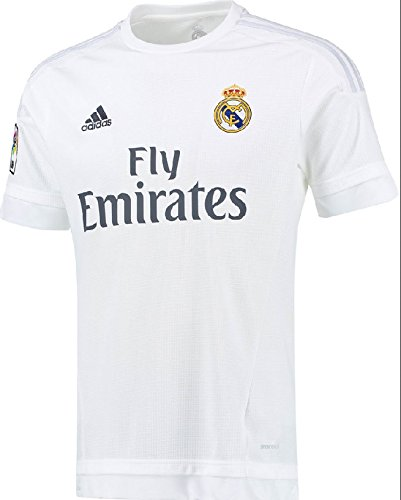 adidas Trikot Real Madrid 2015-2016 Home (Weiß, 140)