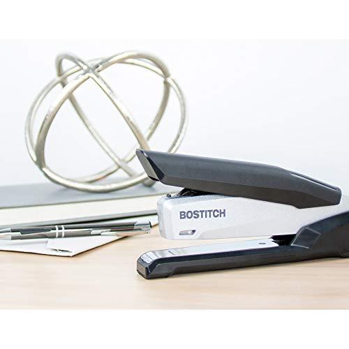 Bostitch inPOWER+28 Executive Stapler - 3 in 1 Stapler - One Finger, No Effort, Spring Powered Stapler, Black/Silver (1110) Photo #6