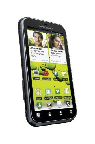 Motorola Defy+ Smartphone (9,3 cm (3,7 Zoll) Bildschirm, Touchscreen, 5 Megapixel Kamera, Android 2.3) schwarz