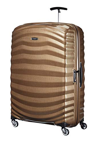 Samsonite Lite-Shock Spinner XL Valigia, 81 cm, 124 L, Marrone (Sand)