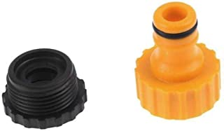 CRZD 1pcs Quick Tap Water Connector Adapter Fast Coupling Adaptor Drip Tape 3/4\