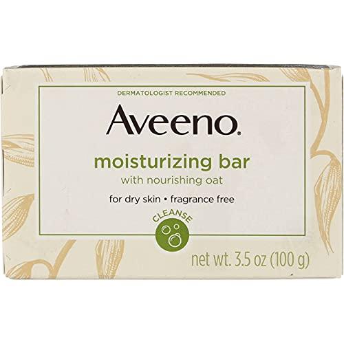 Aveeno Bar Dry Size 3.5 Ounce Aveeno Moisturizing Bar For Dry Skin (Pack of 3)
