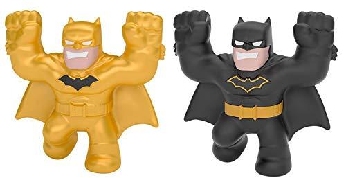 Heroes of Goo JIT Zu DC Minis 2 Pack Figure Bundle - Includes (1) Ultra Rare Gold Batman Figure & (1) Batman Figure