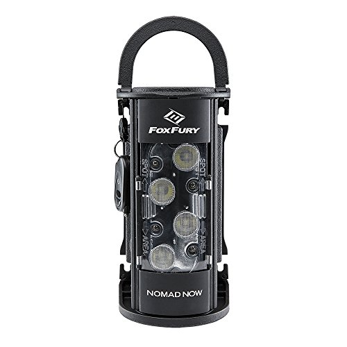 FoxFury Nomad NOW Scene Light/Area Light with Single-Activation, Fire and Impact Resistant, Waterproof, 2500 Lumens