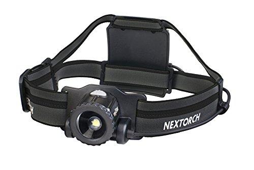 Lampe frontale LED myStar - 550 lumens - Avec batterie (noir)