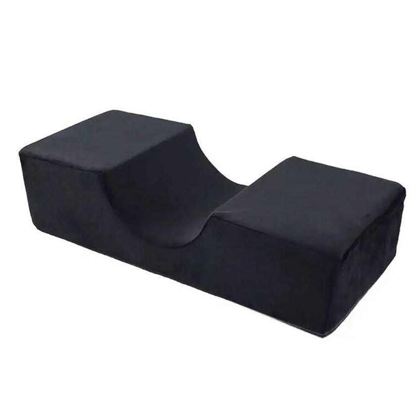 勧告つづり文献まつげ枕人間工学に基づいた首補助シンプルエクステンションカーブ特殊グラフトスタンドツールプロフェッショナル低反発フランネルサロン使用サポート