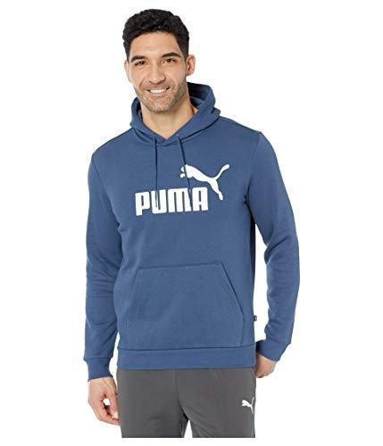 PUMA - Sudadera con capucha para hombre, color marrón oscuro, talla XL