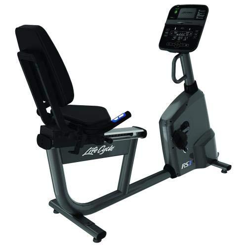 Life Fitness - Bicicleta estática RS1 con Consola Track Connect