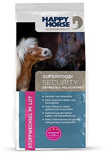 Happy Horse Sensitive Security 2 x 14 kg getreidefrei - melassefrei - zur Gewichtsreduktion oder als Stehfutter