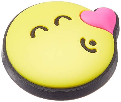 Crocs Smiley Jibbitz-Anstecker| Individualisieren Sie Ihre Crocs mit Jibbitz Smiley Brand Kissing Smiley One-Size