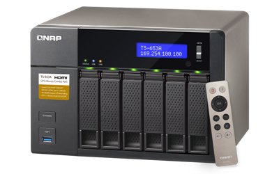 Nas Qnap ts-653a 4G 6-Bay Intel Celeron
