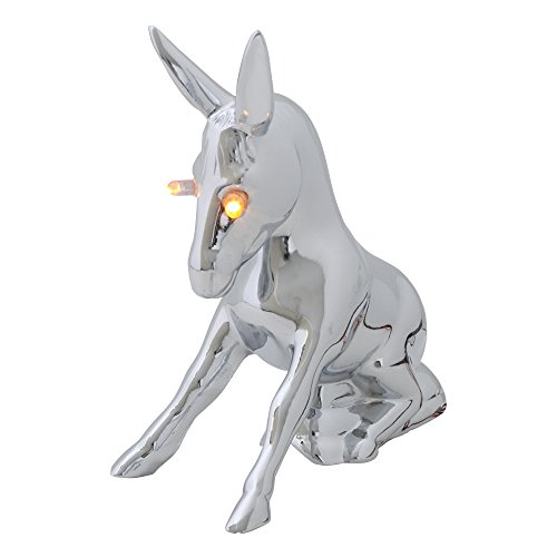 GG Grand General 48161 Chrome Novelty Donkey Hood Ornament