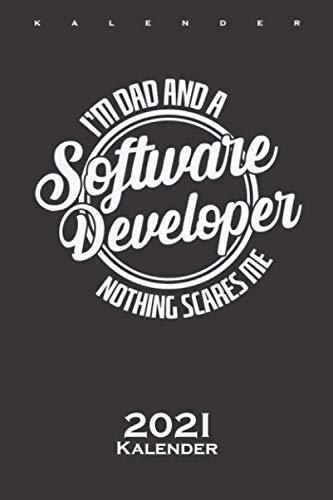 Software Entwickler nennt man Programmierer Kalender 2021: Jahreskalender für Computerfans und Internet Nerds
