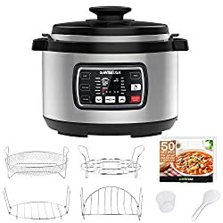 GoWISE USA GW22709 Ovate 10 qt pressure cooker