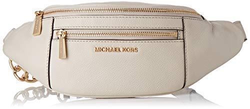 Michael Kors Womens Mott Handtasche, Light Sand, S