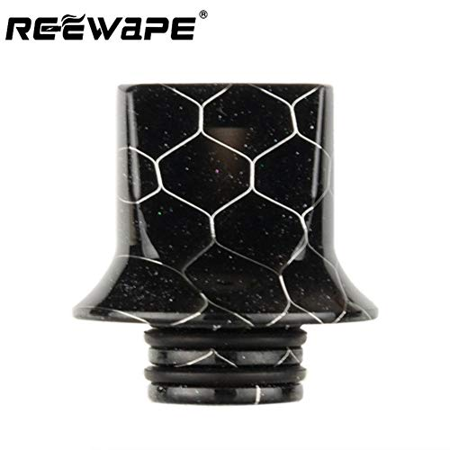Satelliter 510 Drip Tip, Universally Standard Resin Drip Tip Connector for Ice Mod, Newly Updated(H01)