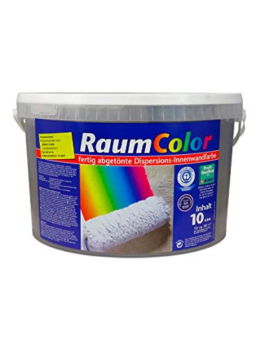 Raumcolor getönt Samtgrau 10 Liter ca. 60 m² Innenfarbe Wandfarbe Wilckens Farbe Trendfarbe hochdeckend