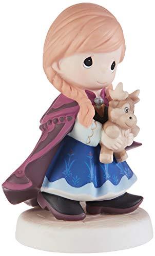 Precious Moments 193054 Disney Showcase Frozen You're So Deer to Me Boneco de porcelana, tamanho único, multicolorido