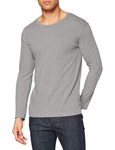 Stedman Apparel Classic-T Long Sleeve/ST2500 T-Shirt, Gris-Gris, X-Large Homme
