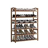 Fuerte Estante for zapatos Sencillo gabinete for zapatos con mini puertas...