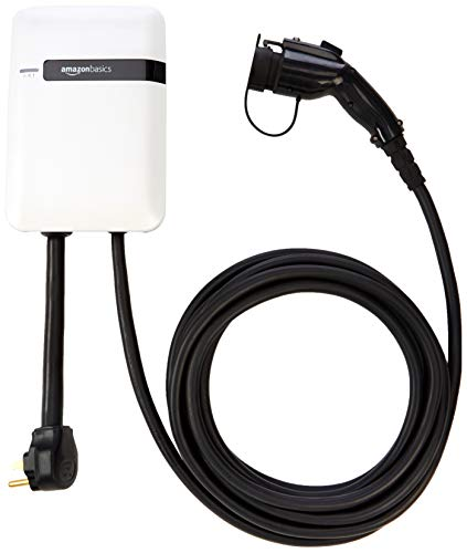 AmazonBasics Electric Vehicle (EV) Level 2 Charging Station, 32 Amp - 25 feet