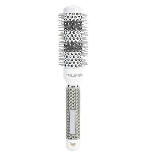 Peine enrollador para crear rizos naturales y fácil de moldear, no enredar y tirar de su cabello, adecuado para peluquería o uso personal(Peine rodante)