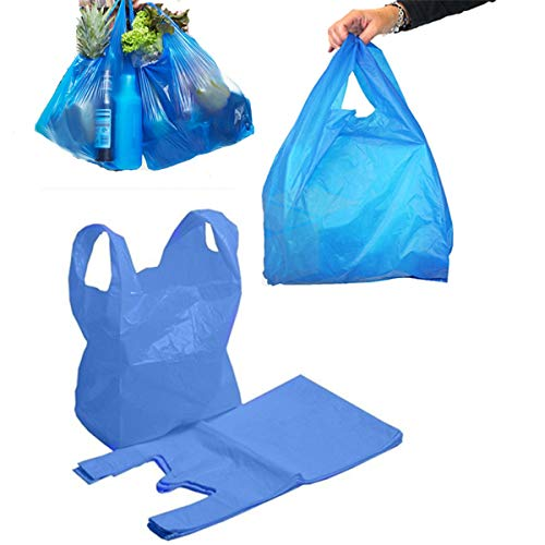 Bolsas de plástico resistente para chaleco, 16 Mu (11 x 43