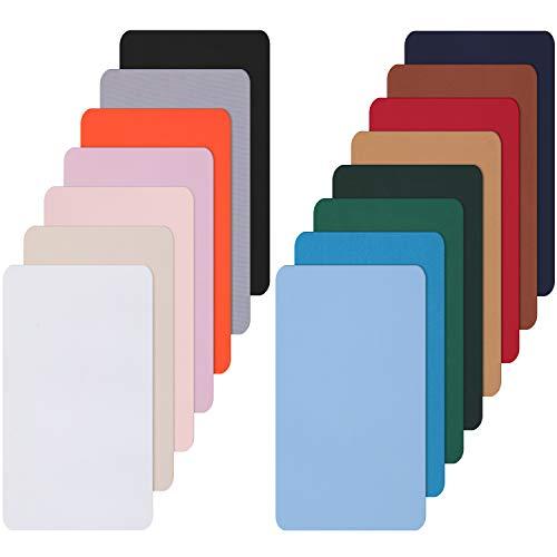 15 Stück Nylon Reparatur Patches Selbstklebende Nylon Patch Wasserdicht Leichte Reparatur Patches für Kleidung Nieder Jacke Reparatur Löcher Zerreißen (25 x 15 cm)